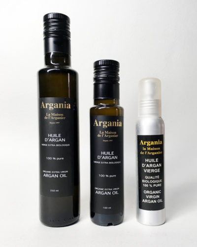 Huile d'Argan Bio 250ml + Argan Bio 100ml + Argan Bio Spray 100ml