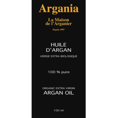 Huile d'Argan 100 ml - Torréfiée