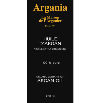 Organic Argan Oil 250ml - Roasted almonds