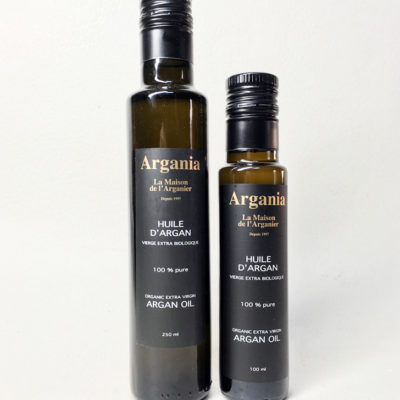 Organic Argan Oil 250ml + Organic Argan Oil 100ml