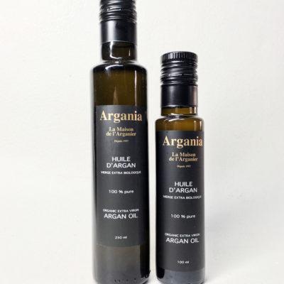 Organic Argan Oil 250ml + Organic Argan Oil 100ml