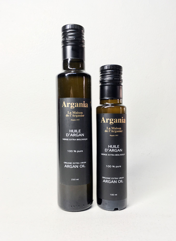 Huile d'Argan 250 ml et 100 ml