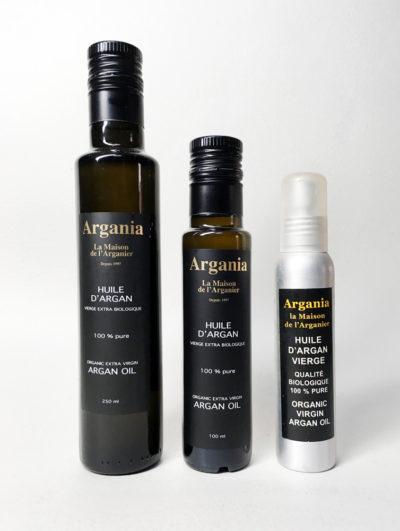 Organic Oil 250ml + Organic Oil 100ml + Organic Oil Spray 100ml