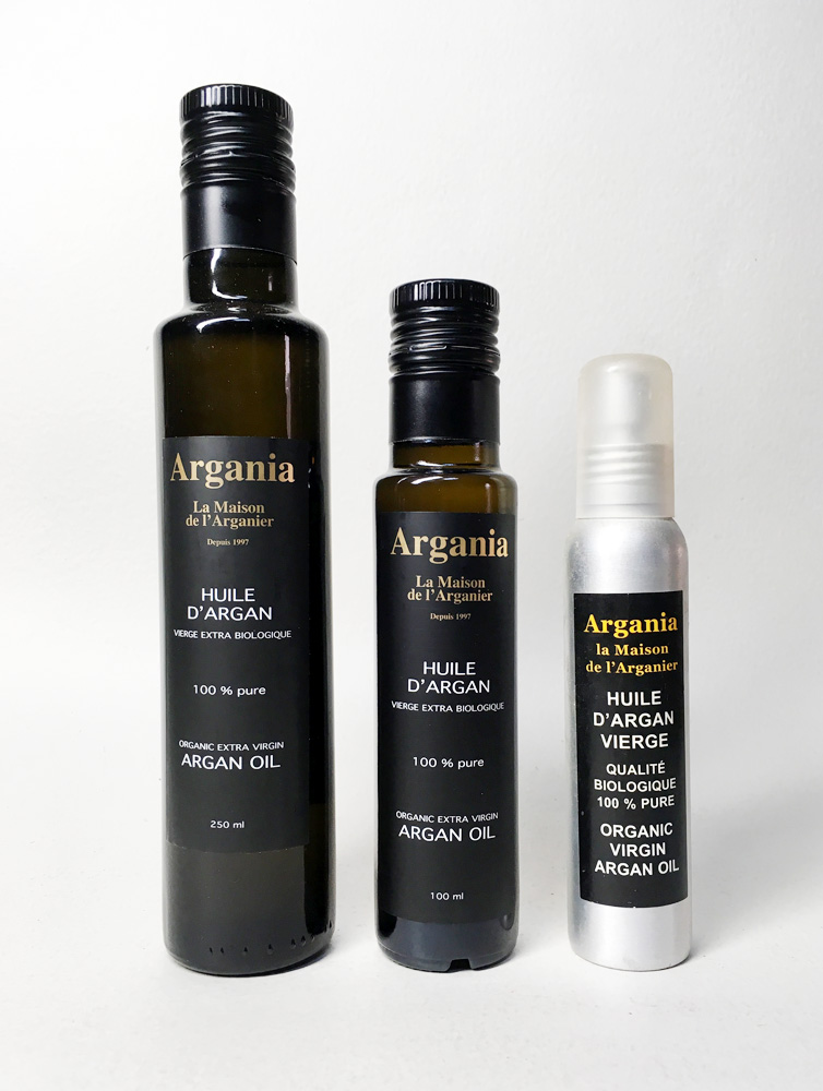 Organic Oil 250ml + Organic Oil 100ml + Organic Oil Spray 100ml