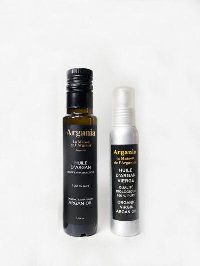 Organic Argan Oil 100ml + Organic Argan Oil 100ml Spray